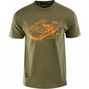 Bloodbath Trooper Tee (olive / military green)