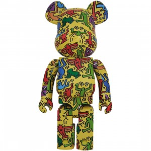 PREORDER - Medicom Keith Haring #5 1000% Bearbrick Figure (yellow)