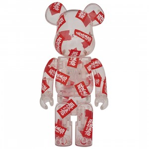 PREORDER - Medicom BlackEyePatch 400% Bearbrick Figure (red)