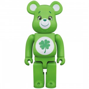 PREORDER - Medicom Care Bears Good Luck Bear 100% Bearbrick Figure (green)