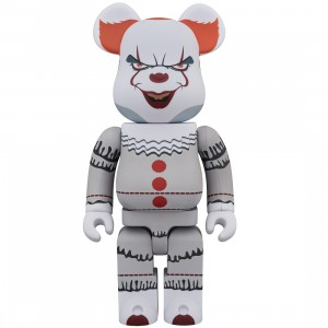 PREORDER - Medicom It Pennywise 400% Bearbrick Figure (white)