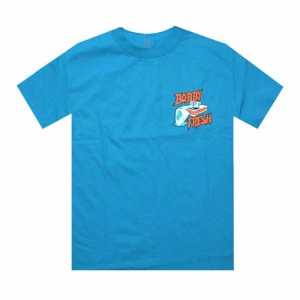 Bobby Fresh Fresh Cats Tee (teal)