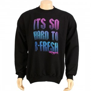 Bobby Fresh Hard To Be Fresh Sweater (black)