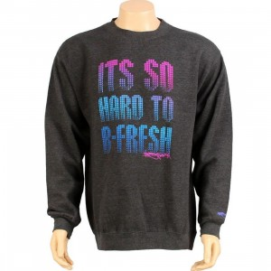 Bobby Fresh Hard To Be Fresh Sweater (dark grey)