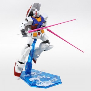 Bandai Gundam Universe GU-01 RX-78-2 Gundam Figure With Special Stage Stand (white)