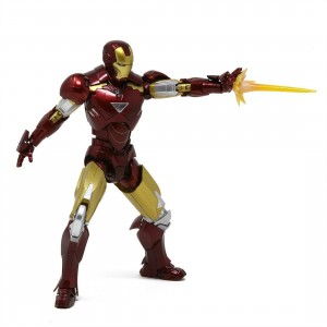 Bandai S.H.Figuarts Marvel Iron Man Iron Man Mark VI and Hall of Armor Set (red)