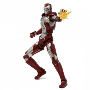 Bandai S.H.Figuarts Marvel Iron Man 2 Iron Man Mark V And Hall Of Armor Set (red)
