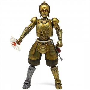 Bandai Meisho Movie Realization Star Wars Honyaku Karakuri C-3PO Figure (gold)