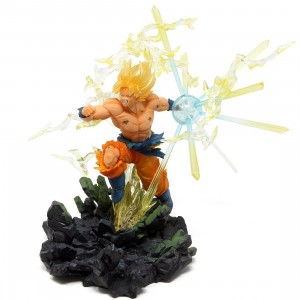 Bandai Figuarts Zero Dragon Ball Z The Burning Battles Super Saiyan Son Goku Figure (tan)