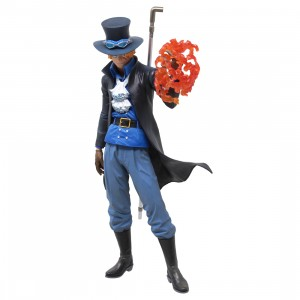Bandai Ichiban Kuji One Piece The Bonds of Brothers Sabo Figure (blue)