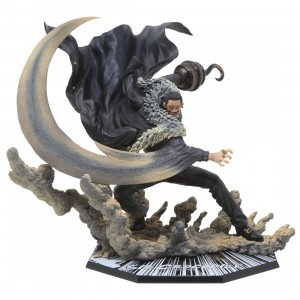 Bandai Figuarts Zero One Piece Extra Battle Sir Crocodile Paramount War Figure (black)