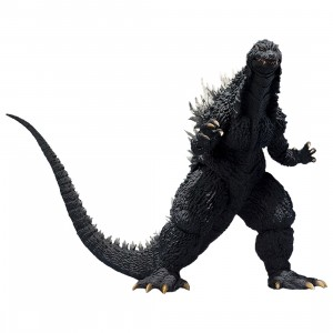 Bandai S.H. MonsterArts Godzilla 2002 Figure (gray)