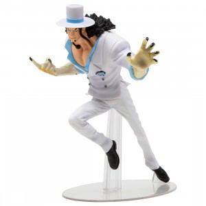 Bandai Ichiban Kuji One Piece Rob Lucci Great Banquet Figure (white)