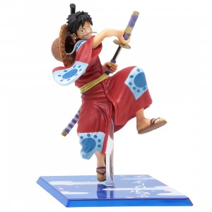 Bandai Figuarts Zero One Piece Monkey D. Luffy Luffytaro Figure (red)