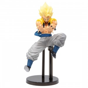 Bandai Ichiban Kuji Dragon Ball Super Saiyan Gogeta Rising Fighters Figure (yellow)