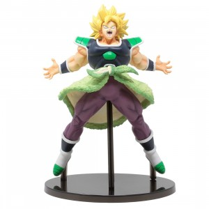 Bandai Ichiban Kuji Dragon Ball Super Saiyan Broly Rising Fighters Figure (green)
