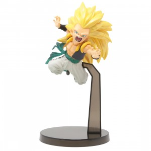 Bandai Ichiban Kuji Dragon Ball Super Saiyan 3 Gotenks Rising Fighters Figure (yellow)