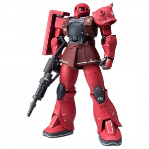Bandai Mobile Suit Gundam The Origin Gundam Fix Figuration Metal Composite MS-05S Char Aznable's Zaku I Figure (red)