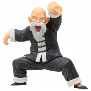 Bandai Ichiban Kuji Dragon Ball Strong Chains Master Roshi Figure (gray)