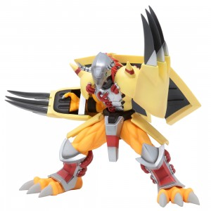 Bandai Ichibansho Digimon Adventure Wargreymon Figure (yellow)