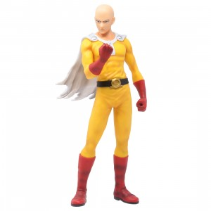 Bandai Ichibansho One Punch Man Serious Face Saitama Figure (yellow)