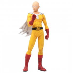 Bandai Ichibansho One Punch Man Normal Face Saitama Figure (yellow)