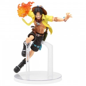 Bandai Ichibansho One Piece Dynamism Of Ha Portgas D. Ace Figure (yellow)