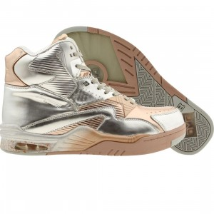 British Knights x Sorayama Men Control Hi (silver / chrome / rose gold)