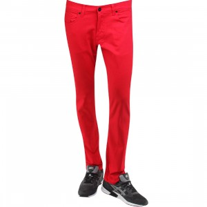 BLKWD The Standard Jeans (red / siren red)
