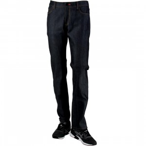 BLKWD The Hawthorne Raw Jean (blue / zoo)