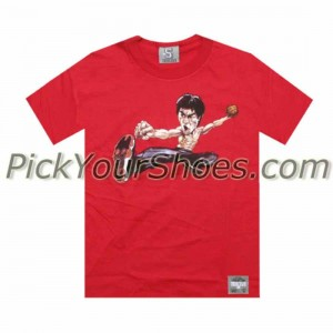 UNDRCRWN x Bruce Lee - AJ11 Black Red Tee (red) - PYS.com Exclusive