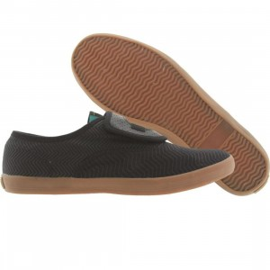 Booji Womens Francisco - Black Mamba (black / emerald green / gum)