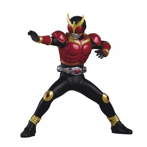 PREORDER - Banpresto Kamen Rider Kuuga Hero's Brave Mighty Form Ver. A Statue Figure (red)