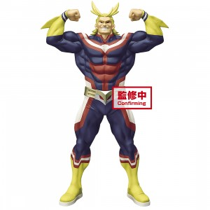 PREORDER - Banpresto My Hero Academia Grandista All Might Figure (navy)