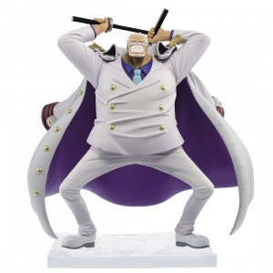 PREORDER - Banpresto One Piece Magazine Figure Piece of a Dream No.1 Vol. 4 Monkey D. Garp Figure (white)