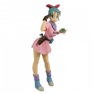 PREORDER - Banpresto Dragon Ball Glitter And Glamours Bulma III Ver A Figure (pink)