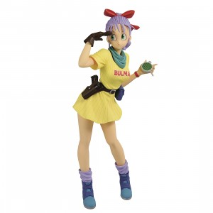 PREORDER - Banpresto Dragon Ball Glitter And Glamours Bulma III Ver B Figure (yellow)