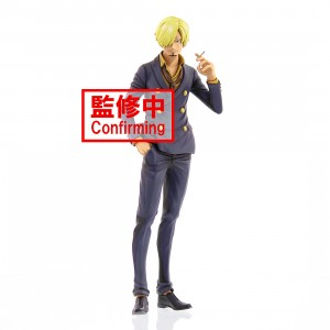 PREORDER - Banpresto One Piece Grandista Manga Dimensions Sanji Figure (purple)