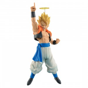 PREORDER - Banpresto Dragon Ball Z Com Figuration Gogeta Vol. 1 Super Saiyan Gogeta Figure (tan)