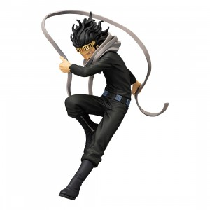 PREORDER - Banpresto My Hero Academia The Amazing Heroes Vol 6 Aizawa Shouta Eraser Head Figure Re-run (black)