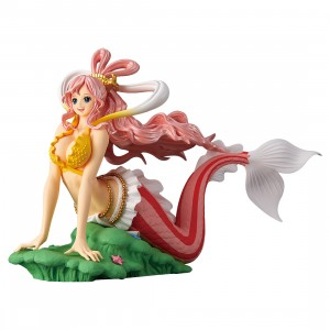 PREORDER - Banpresto One Piece Glitter And Glamours Princess Shirahoshi Ver. A Figure Re-run (pink)