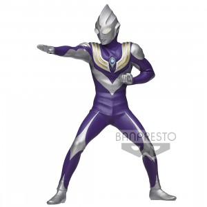 PREORDER - Banpresto Ultraman Tiga Hero's Brave Statue - A Sky Type Figure (purple)