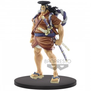 PREORDER - Banpresto DXF One Piece The Grandline Men Wano Kuni Vol. 10 Oden Kozuki Figure (brown)