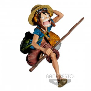 PREORDER - Banpresto One Piece Chronicle Figure Colosseum 4 Vol.1 Monkey D. Luffy Figure (blue)