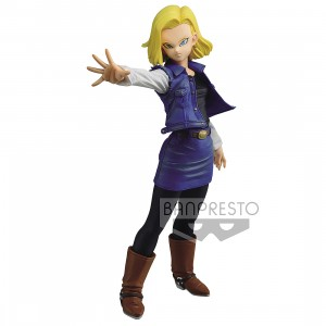 PREORDER - Banpresto Dragon Ball Z Match Makers Android 18 Figure (blue)
