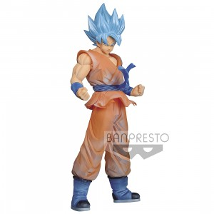 PREORDER - Banpresto Dragon Ball Super Clearise Super Saiyan God Super Saiyan Son Goku Figure (orange)
