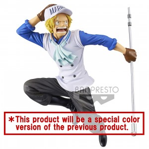 PREORDER - Banpresto One Piece Magazine Figure A Piece Of Dream No. 1 Special Sabo Figure (blue)