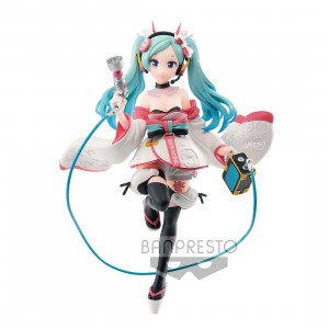 PREORDER - Banpresto Hatsune Miku Racing Ver. Espresto Est Dress And Pattern Racing Miku 2020 Kimono Ver. Figure (blue)