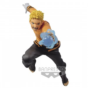 PREORDER - Banpresto Boruto Naruto Next Generations Vibration Stars Uzumaki Naruto Figure (orange)