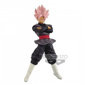 PREORDER - Banpresto Dragon Ball Super Chosenshi Retsuden II Vol. 6 Super Saiyan Rose Goku Black Figure (pink)
